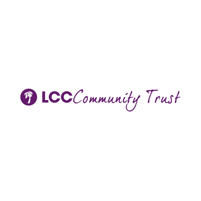 LLC Community Trust logo purple