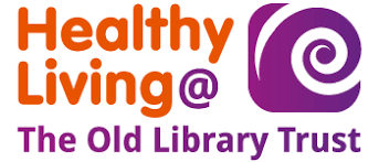 Healthly Living @ The Old Library Trust Logo